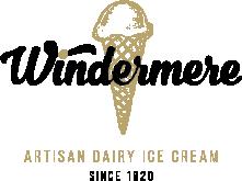 Windermere artisan dairy ice cream logo